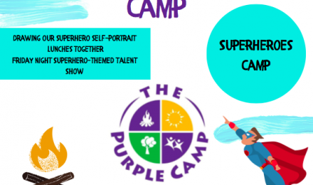 superhero camp