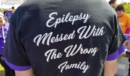 Epilepsy Messed with the Wrong Family